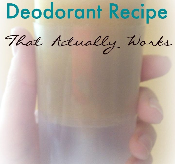 A No-Mess DIY Deodorant Recipe That Actually Works