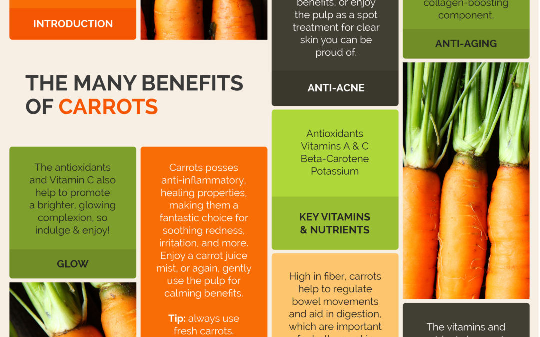 The Many Beauty and Health Benefits of Carrots