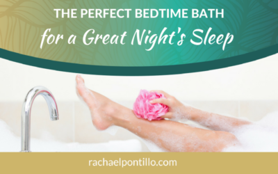 The Perfect Bedtime Bath for a Great Night's Sleep